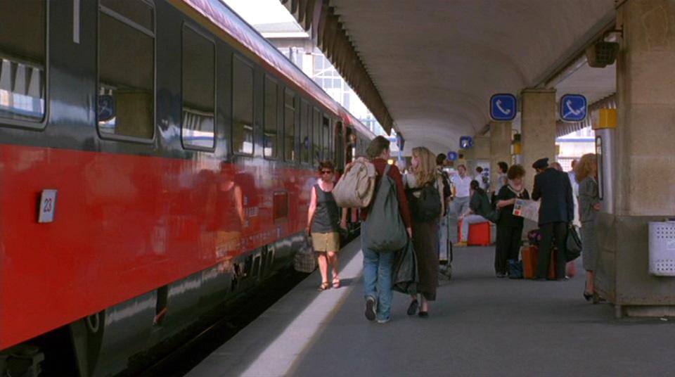 Estação de trem em Viena