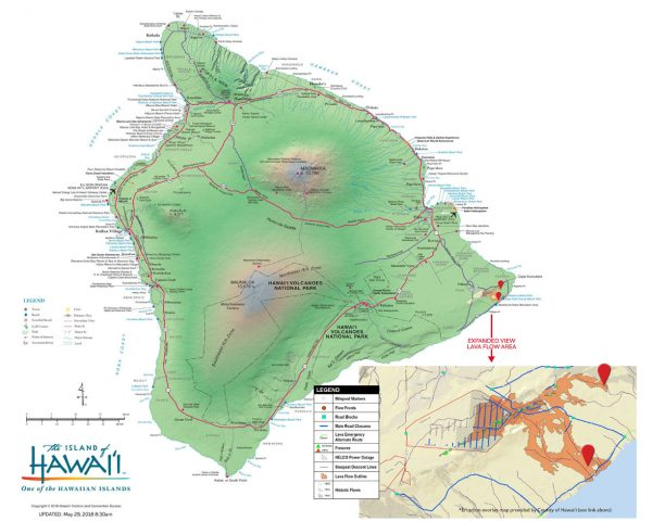 Erupção do Kilauea - Maio 2018