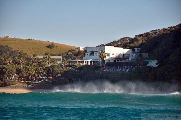 Coffee Bay - mergulho do Sardine Run