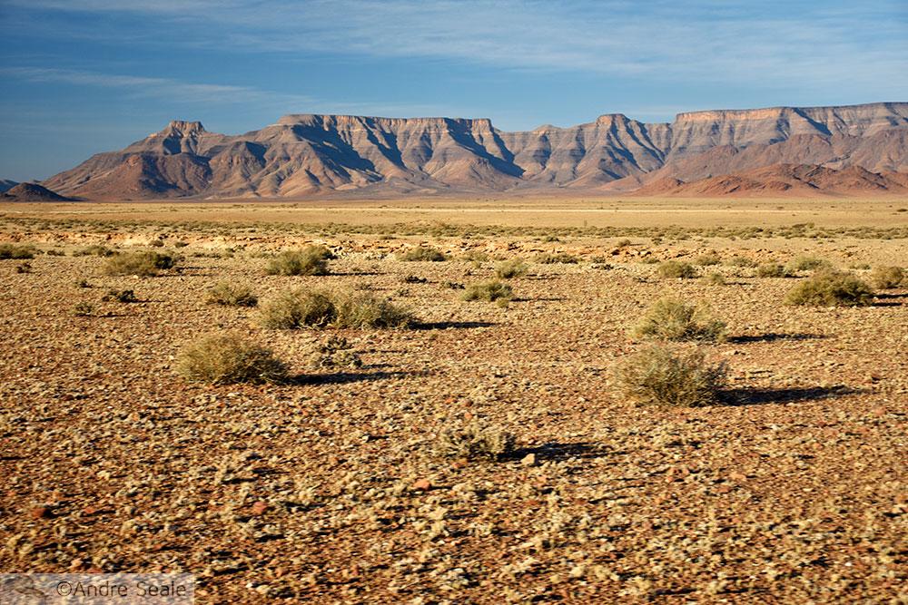 Estrada para Sosssusvlei - Cinco dias na Namíbia