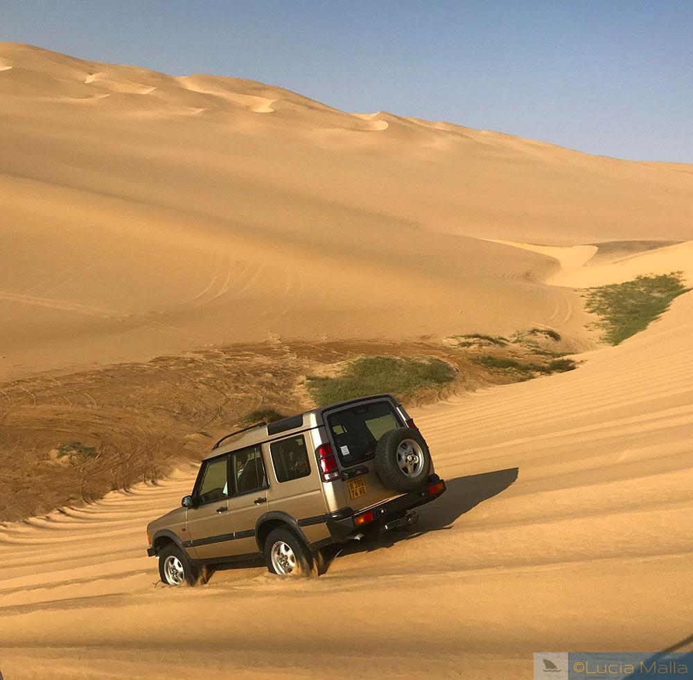 Jipe no Deserto da Namíbia - Roteiro de Cinco Dias na Namíbia