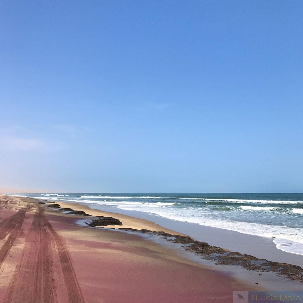 Praia Rosa - África