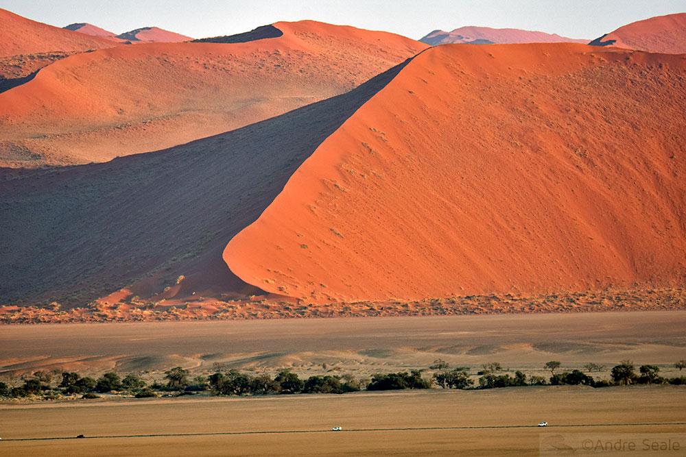 Dunas vermelhas do Sossusvlei - Cinco dias na Namíbia