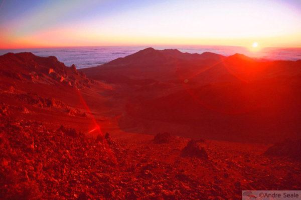 Hawaii - vulcão Haleakala
