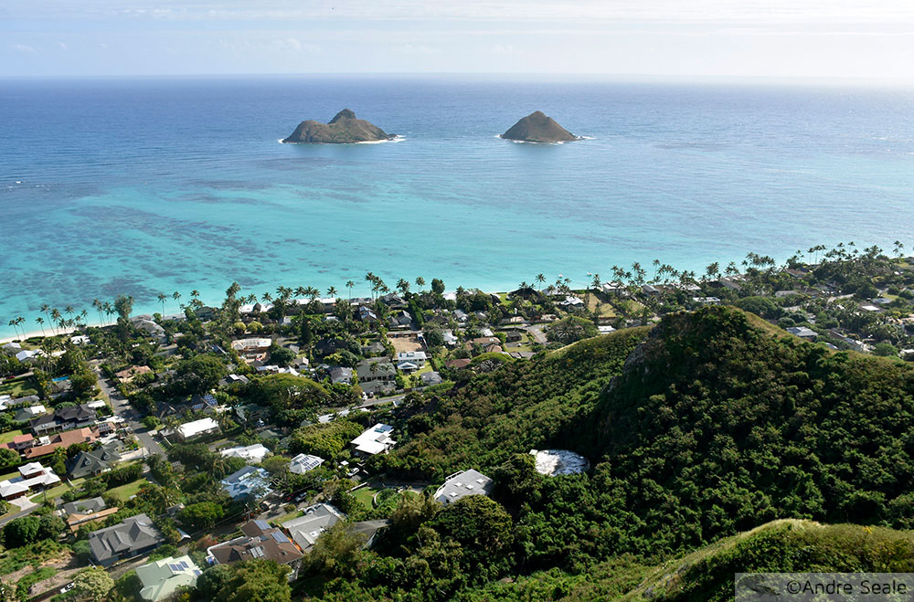 Praia de Lanikai - Roteiros em Oahu