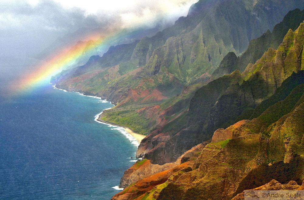 Na Pali Coast - Roteiros no Kauai