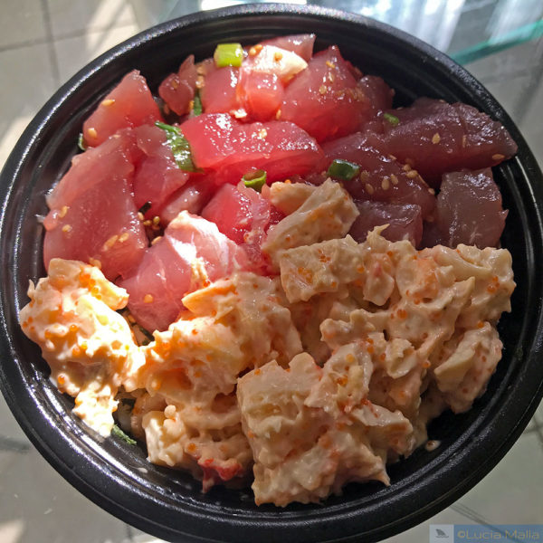 5 melhores poke shops do Havaí