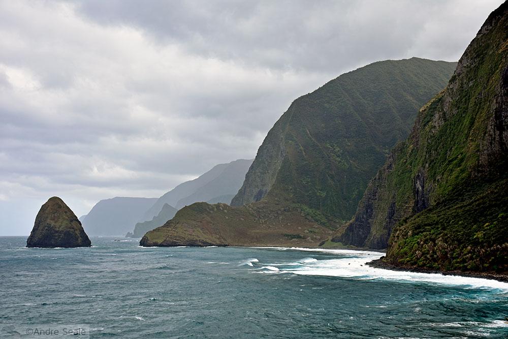 Penhascos de Molokai