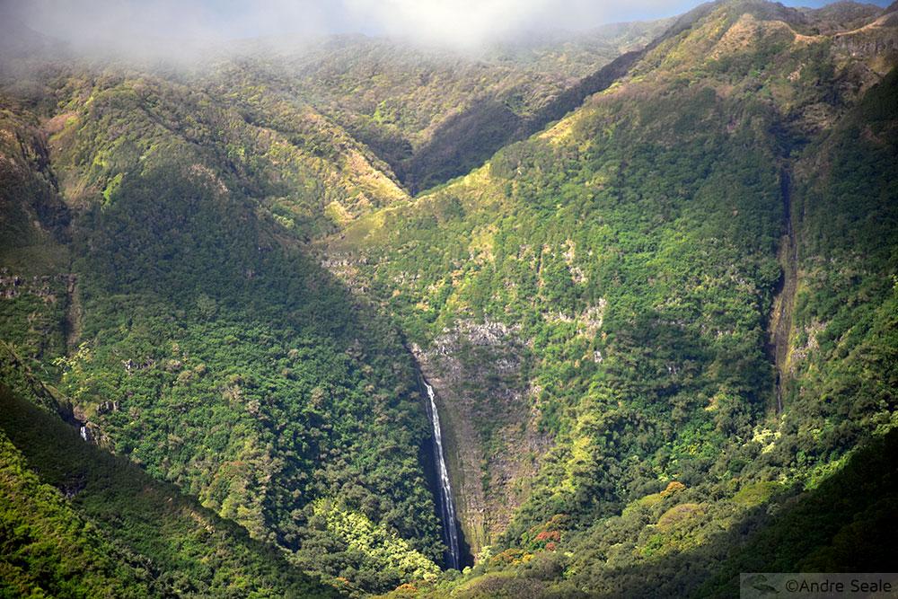 3 dias em Molokai - cachoeira de Mooula