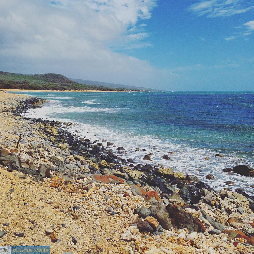 Praia deserta - Havaí