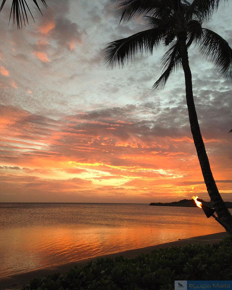 Por do sol - Molokai - Havaí