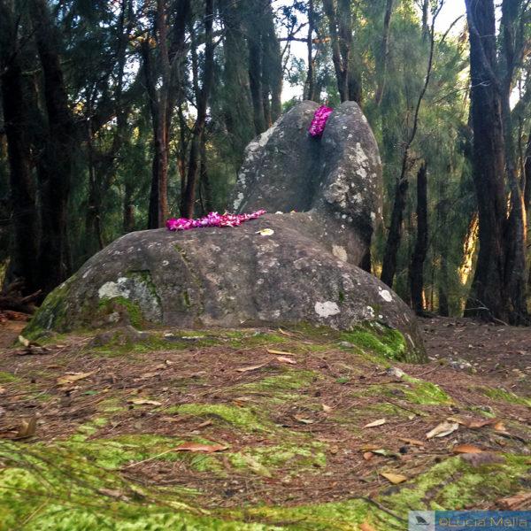 3 dias em Molokai - Pedra Fálica ou phallic rock