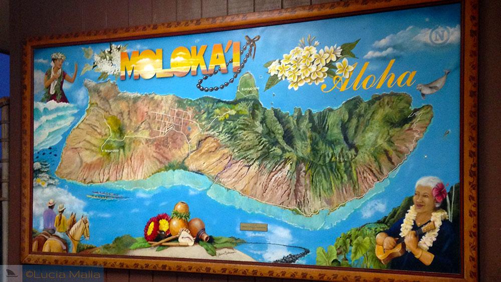 Chegada em Molokai - Havaí