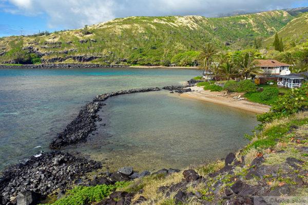 3 dias em Molokai - loko i'a