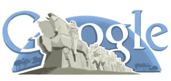 Google doodle do Brecheret