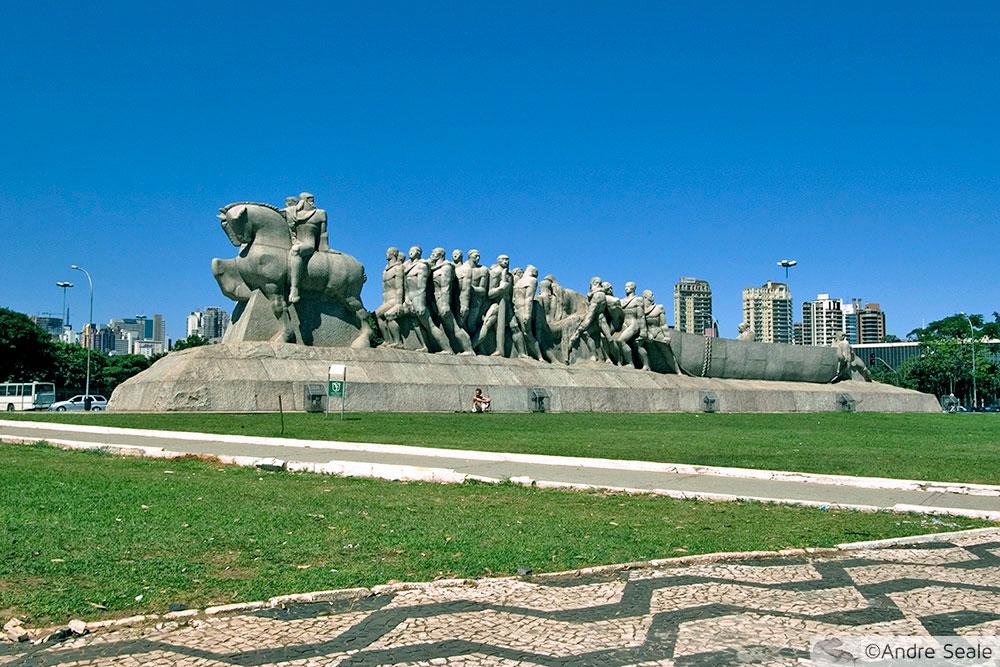 Arte de Brecheret - Monumento aos Bandeirantes