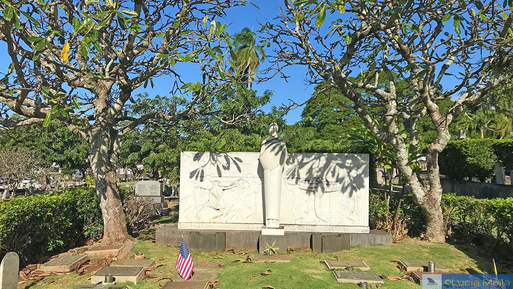 Obra de arte de Brecheret em Honolulu - Havaí
