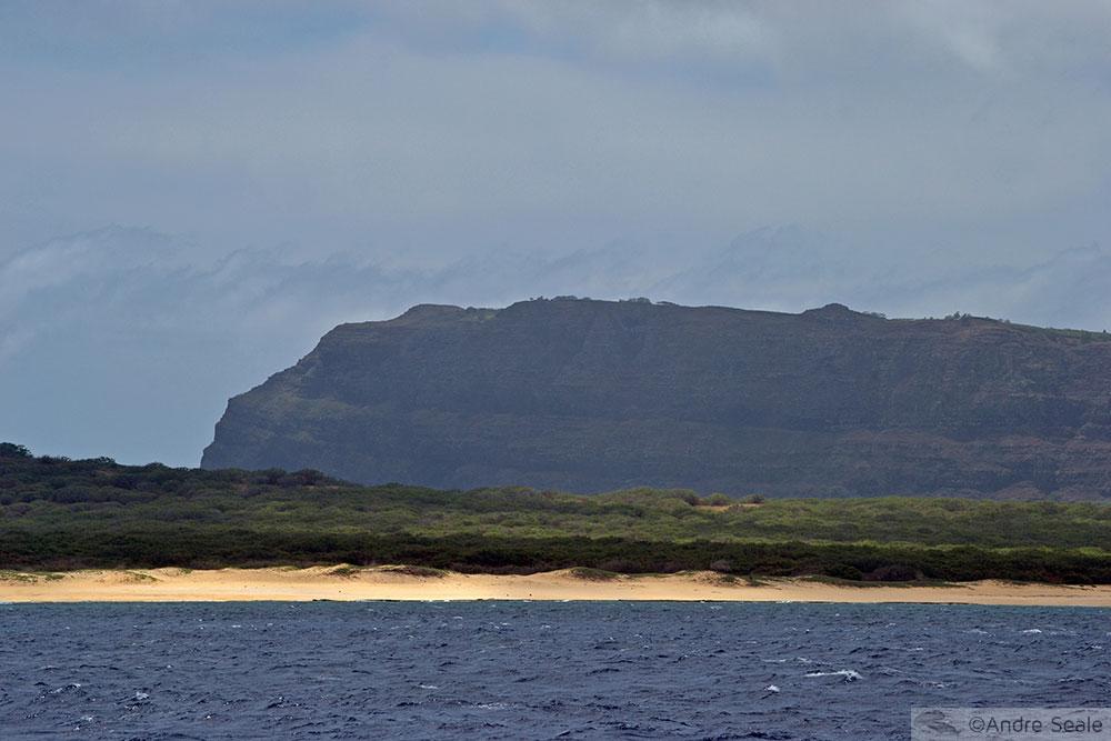 Praia em Niihau - Havaí