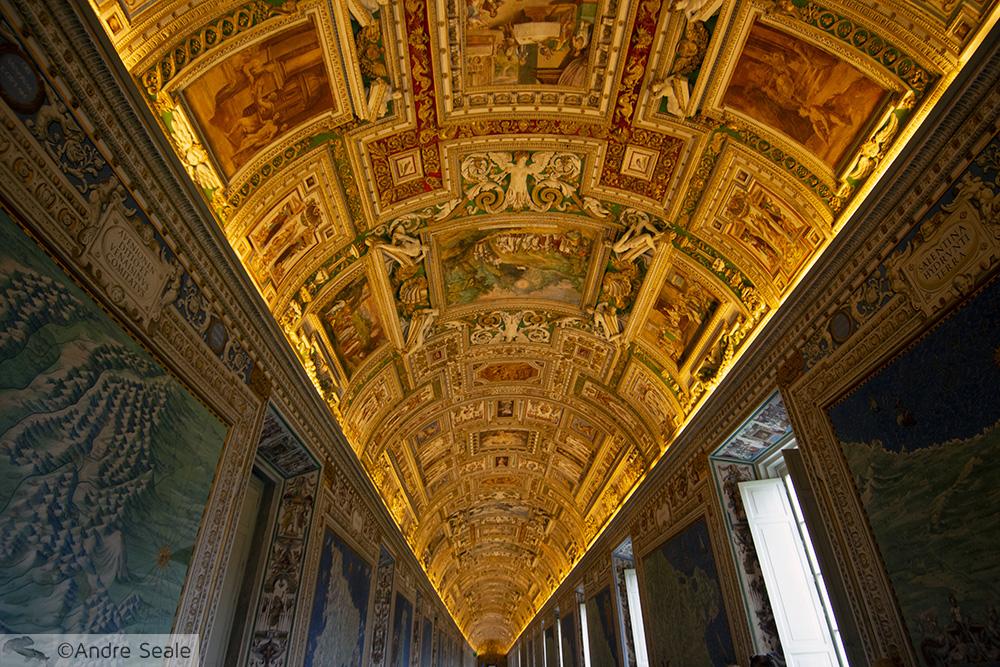 Teto - Museu do Vaticano