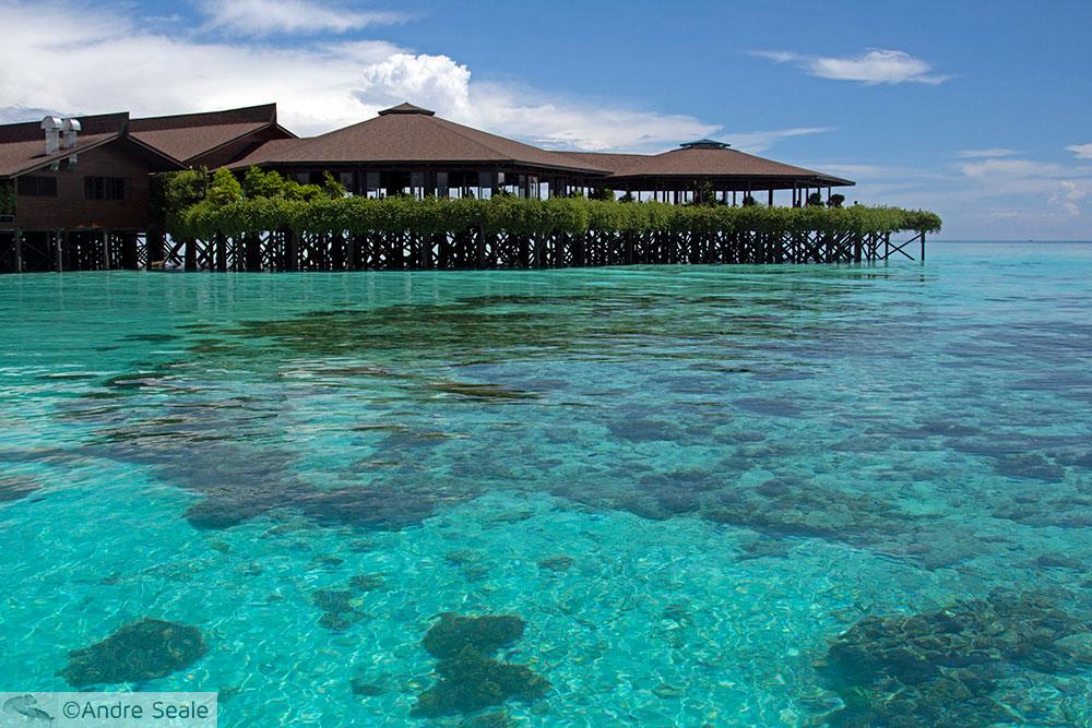 Kapalai Dive Resort em palafitas - Malásia