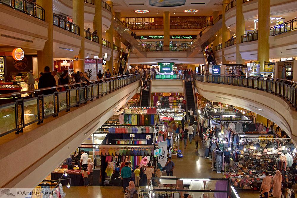 Gadong Shopping Mall - Roteiro em Brunei