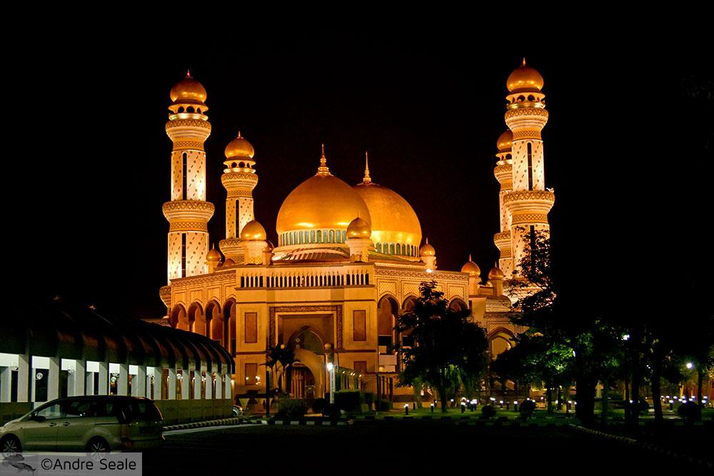Mesquita em Brunei