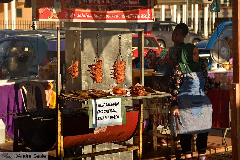 Mercado Halal de Ramadan - Bandar Seri Begawan - Brunei