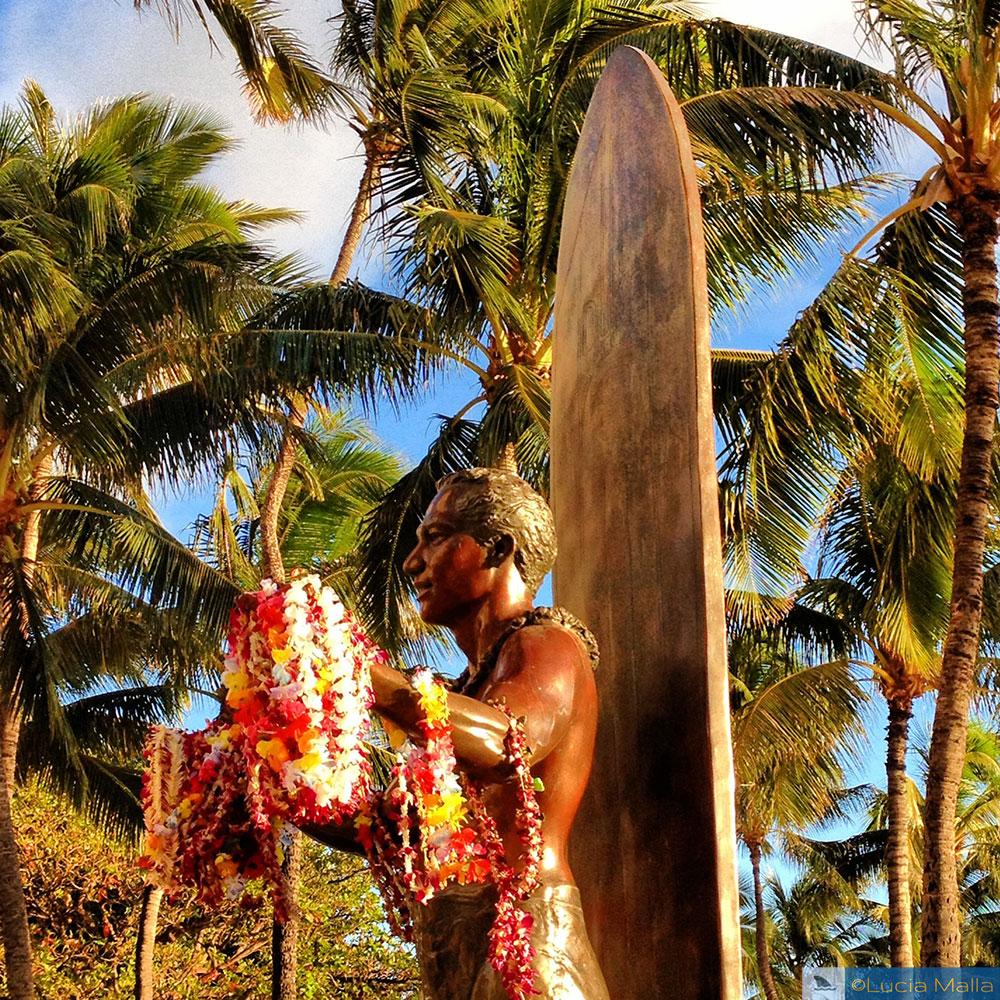 Estátua do Duke - Waikiki