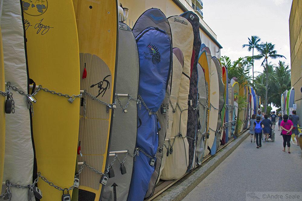 Pranchas de surfe - Waikiki