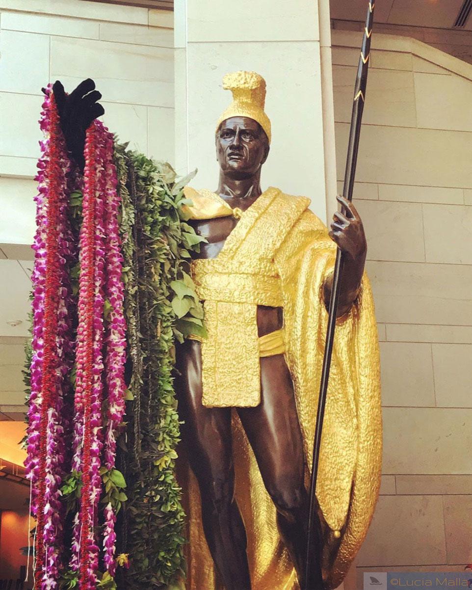 Estátuas do Kamehameha - Washington DC