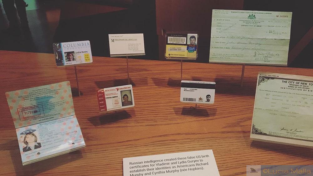 Visita ao International Spy Museum