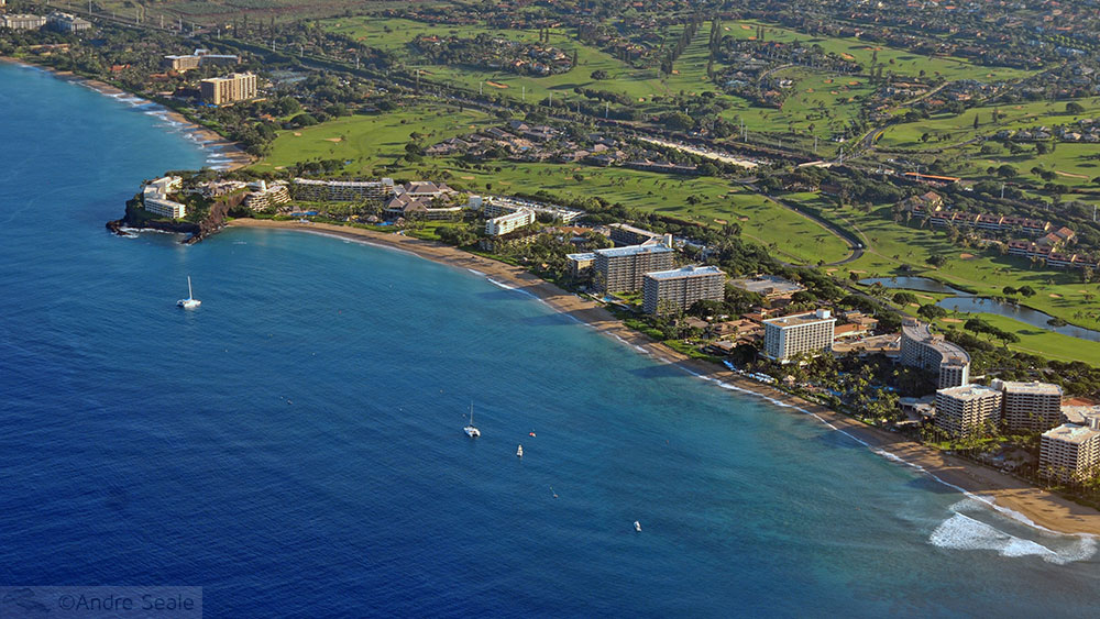 Black Rock Beach - melhores praias de Maui