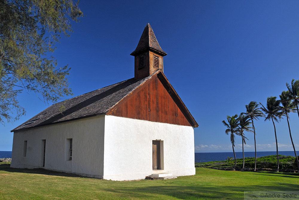 Igreja de Palapala Ho'omau - Túmulo de Charles Lindbergh - Maui - Havaí