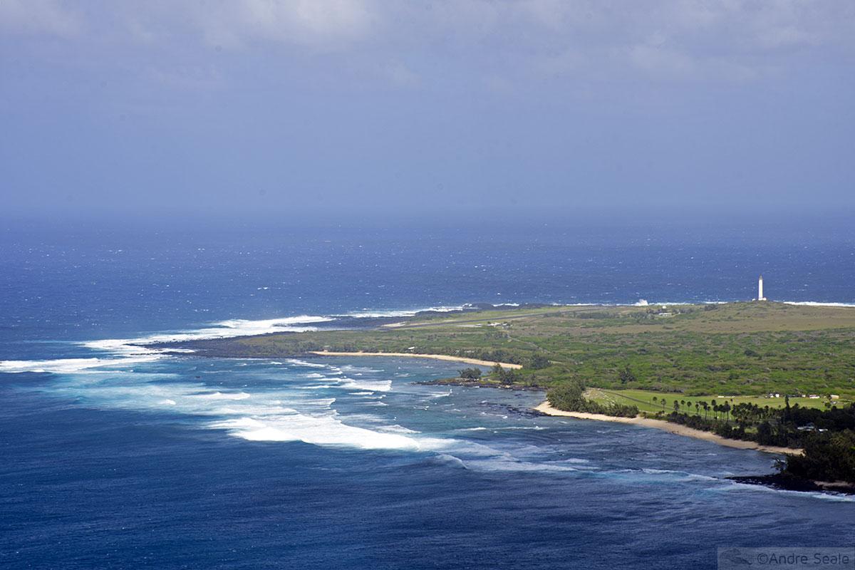 Vista da península de Kalaupapa - Molokai - Havaí
