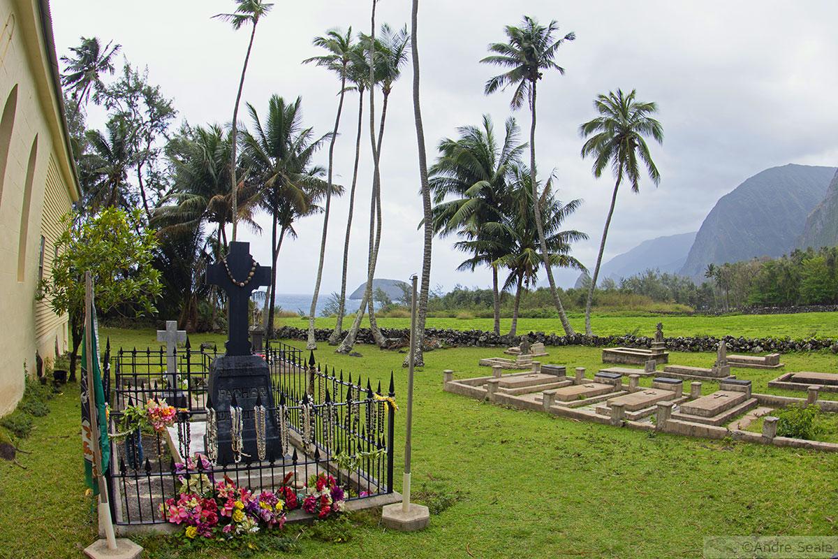 Túmulo do Padre Damião - Molokai