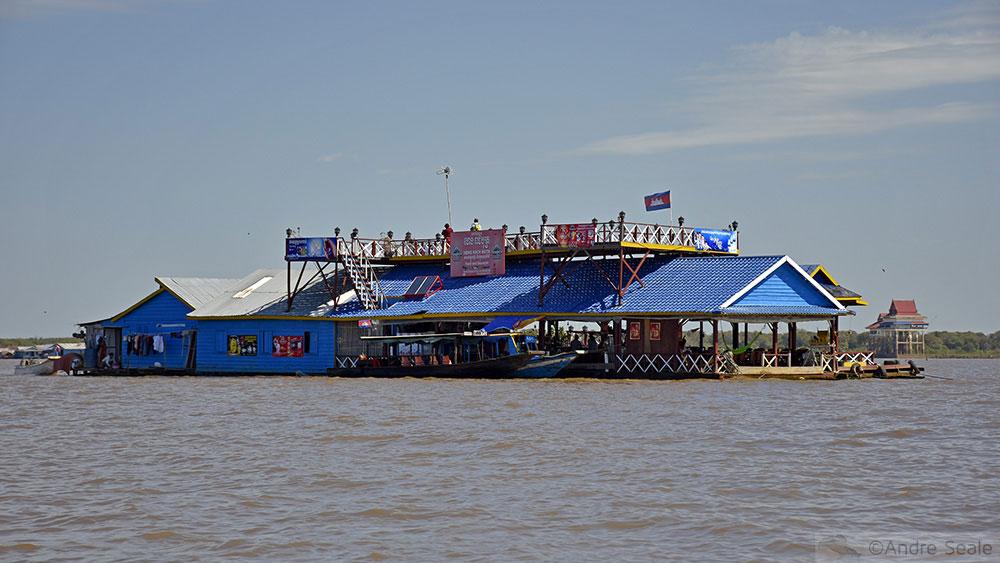 Lago Tonle Sap - Camboja