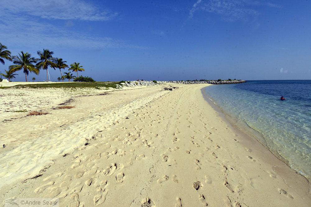Praia de West End - Bahamas