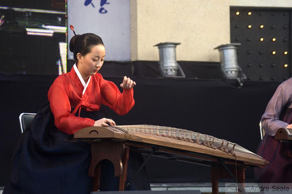 Música coreana tradicional
