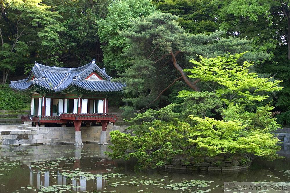 Templo Confucionista em Seul